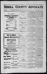Sierra County Advocate, 1912-05-31 by J.E. Curren