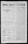 Sierra County Advocate, 1912-06-07 by J.E. Curren