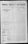 Sierra County Advocate, 1912-06-14 by J.E. Curren