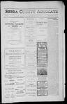 Sierra County Advocate, 1912-06-21 by J.E. Curren