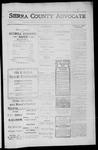 Sierra County Advocate, 1912-06-28 by J.E. Curren