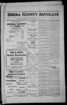 Sierra County Advocate, 1912-07-26 by J.E. Curren