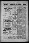 Sierra County Advocate, 1912-08-02 by J.E. Curren