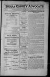 Sierra County Advocate, 1912-08-16 by J.E. Curren