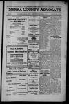 Sierra County Advocate, 1912-08-23 by J.E. Curren