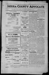 Sierra County Advocate, 1912-09-06 by J.E. Curren