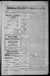 Sierra County Advocate, 1912-09-13 by J.E. Curren