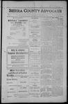 Sierra County Advocate, 1912-09-27 by J.E. Curren