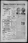 Sierra County Advocate, 1912-10-04 by J.E. Curren