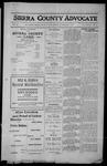 Sierra County Advocate, 1912-11-08 by J.E. Curren