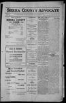 Sierra County Advocate, 1912-11-15 by J.E. Curren