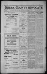 Sierra County Advocate, 1912-11-22 by J.E. Curren