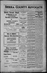 Sierra County Advocate, 1912-12-06 by J.E. Curren