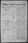 Sierra County Advocate, 1912-12-13 by J.E. Curren