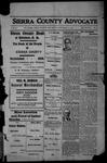 Sierra County Advocate, 1912-12-27 by J.E. Curren
