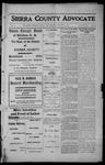 Sierra County Advocate, 1913-01-03 by J.E. Curren