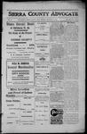 Sierra County Advocate, 1913-01-10 by J.E. Curren