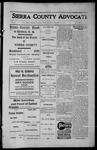 Sierra County Advocate, 1913-01-17 by J.E. Curren