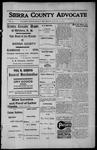 Sierra County Advocate, 1913-01-24 by J.E. Curren