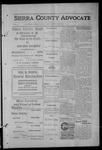 Sierra County Advocate, 1913-02-07 by J.E. Curren