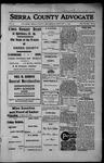 Sierra County Advocate, 1913-02-21 by J.E. Curren