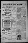 Sierra County Advocate, 1913-02-28 by J.E. Curren