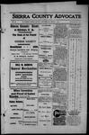 Sierra County Advocate, 1913-03-07 by J.E. Curren