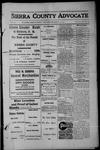 Sierra County Advocate, 1913-03-14 by J.E. Curren