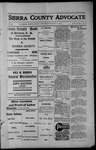 Sierra County Advocate, 1913-03-21 by J.E. Curren