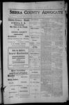 Sierra County Advocate, 1913-04-04 by J.E. Curren