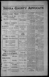 Sierra County Advocate, 1913-04-18 by J.E. Curren
