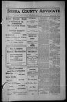 Sierra County Advocate, 1913-04-25 by J.E. Curren
