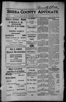 Sierra County Advocate, 1913-05-23 by J.E. Curren