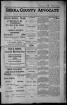 Sierra County Advocate, 1913-06-06 by J.E. Curren