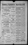 Sierra County Advocate, 1913-07-04 by J.E. Curren