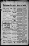 Sierra County Advocate, 1913-07-11 by J.E. Curren