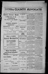 Sierra County Advocate, 1913-07-18 by J.E. Curren