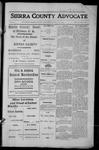 Sierra County Advocate, 1913-08-08 by J.E. Curren
