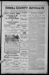 Sierra County Advocate, 1913-08-22 by J.E. Curren