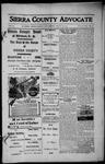 Sierra County Advocate, 1913-08-29 by J.E. Curren