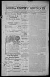 Sierra County Advocate, 1913-09-12 by J.E. Curren
