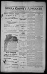 Sierra County Advocate, 1913-09-19 by J.E. Curren