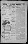 Sierra County Advocate, 1913-09-26 by J.E. Curren