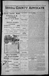 Sierra County Advocate, 1913-10-03 by J.E. Curren