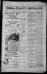 Sierra County Advocate, 1913-10-10 by J.E. Curren