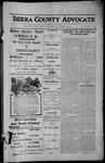 Sierra County Advocate, 1913-10-17 by J.E. Curren