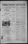 Sierra County Advocate, 1913-10-24 by J.E. Curren