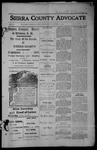 Sierra County Advocate, 1913-10-31 by J.E. Curren