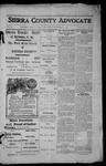 Sierra County Advocate, 1913-11-07 by J.E. Curren