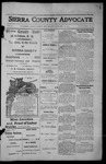 Sierra County Advocate, 1913-11-14 by J.E. Curren